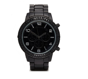 asos montre noire