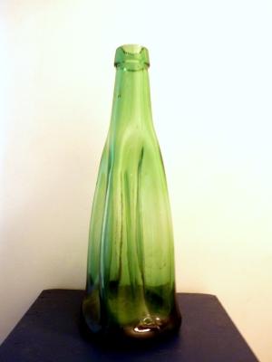 Bonbonne verre chiné à Emmaus Arles