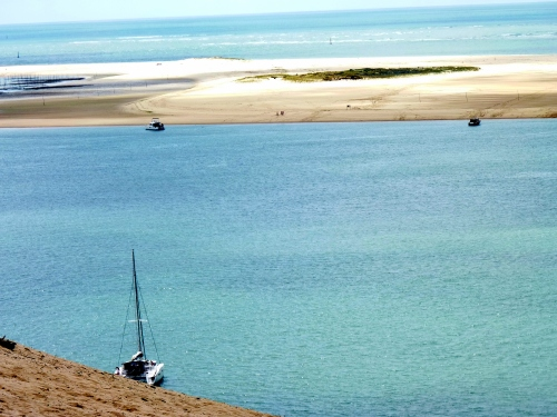 Dune du Pyla mer