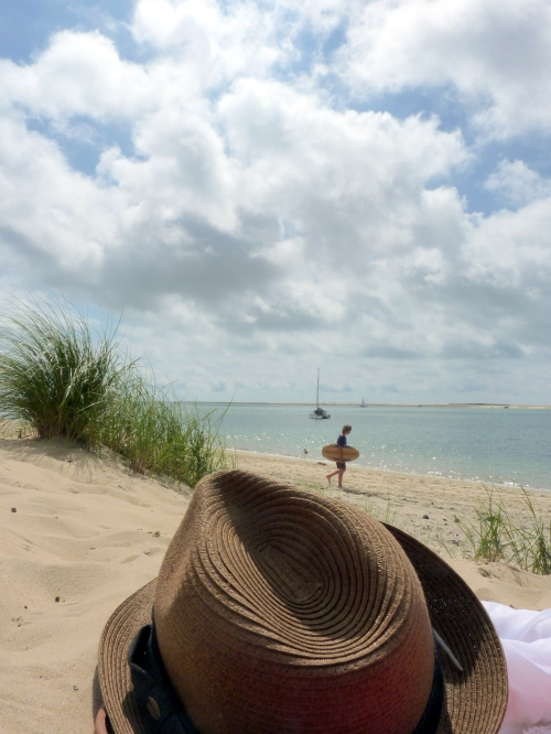 Dune du pyla chapeau