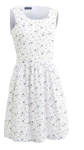 robe fleur saint james