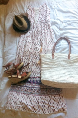 J'adore les robes longues l'été, c'est parfait pour une tenue féminine et cool !
