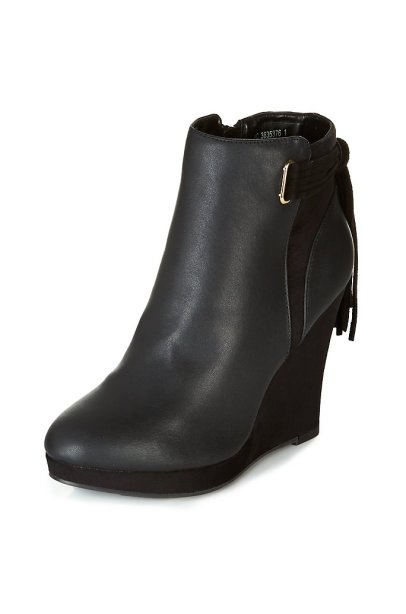 bottines compenses newlook